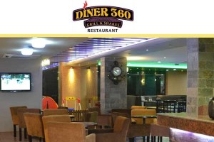 Image courtesy of : Diner 360 - Grill & Shakes Restaurant, Dhaka.