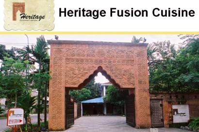 Heritage Fusion Cuisine. Gulshan, Dhaka.
