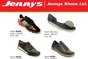 Image courtesy of : Jennys Shoes Ltd. Banladesh.