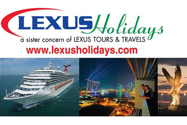Lexus Holidays - Travel Agency · Tour Company · Cruise