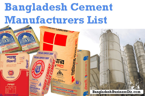 List of Cement Companies in Bangladesh