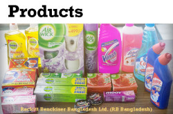 Products by Reckitt Benckiser (Bangladesh) Ltd