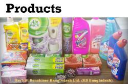Products by Reckitt Benckiser (Bangladesh) Ltd