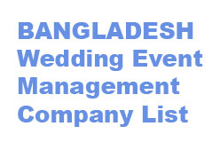 BD Wedding Planners List