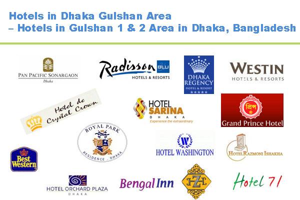 Hotels in Gulshan Dhaka Bangladesh