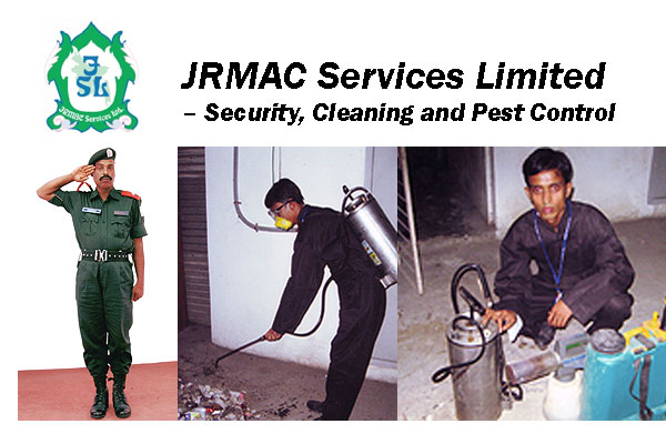 JRMAC Services Limited – Security, Cleaning and Pest Control Service