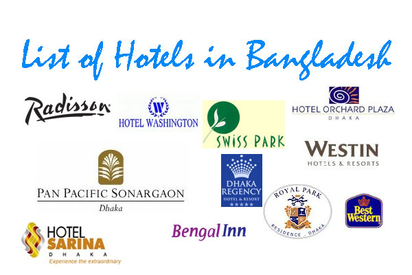List of Hotels in Bangladesh