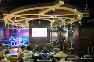 Thirty3 Restaurant - Family Style Restaurant & music theme café.