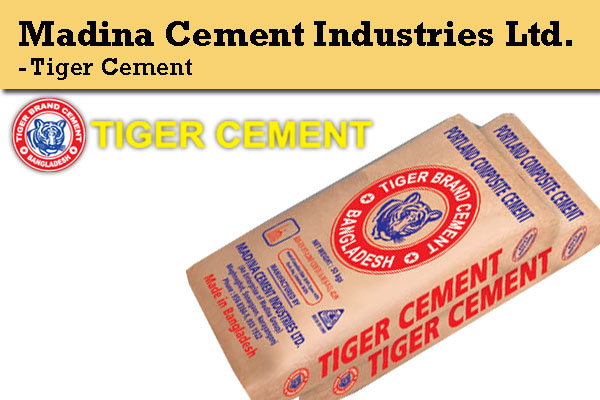 Madina Cement Industries Ltd. - Tiger Brand Cement.