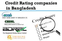 List of Credit Rating Agencies Bangladesh | Credit rating firms in Bangladesh