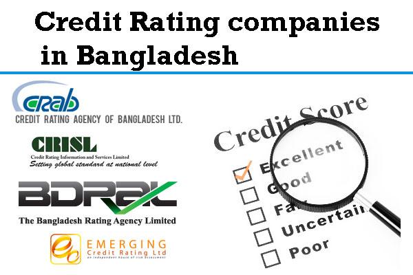 List of Credit Rating Agencies Bangladesh | Credit rating
