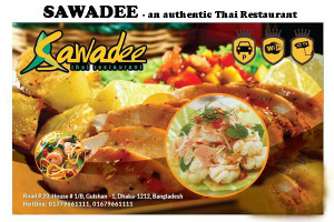 SAWADEE - authentic Thai Restaurant in Grand Oriental Ambiance.