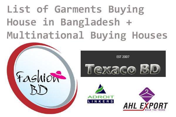 Garments Buying House in Bangladesh