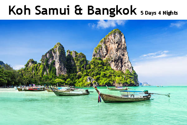 Koh Samui & Bangkok Package Tour Bangladesh