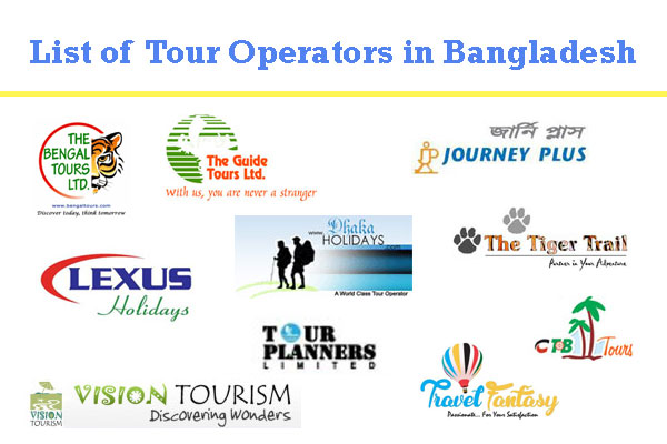 List of Tour Operators in Bangladesh