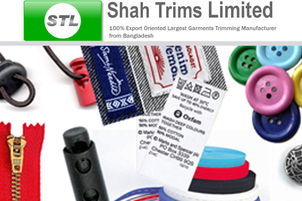 Shah Trims Limited.  - Garment Accessories Manufacturer in Bangladesh.
