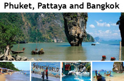 Phuket, Pattaya and Bangkok Package Tour from Bangladesh