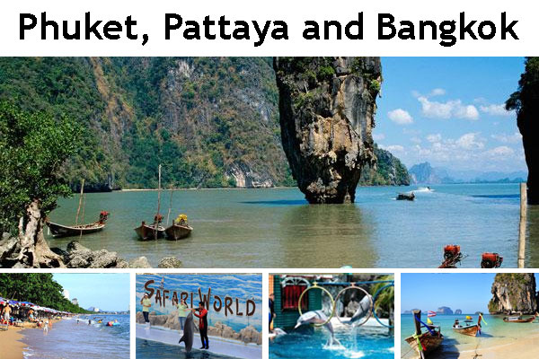 Thailand Package Tour from Bangladesh – Phuket, Pattaya and Bangkok