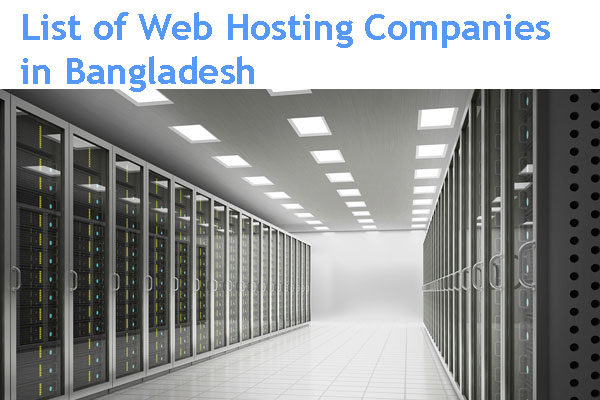List of Website Hosting Companies in Bangladesh