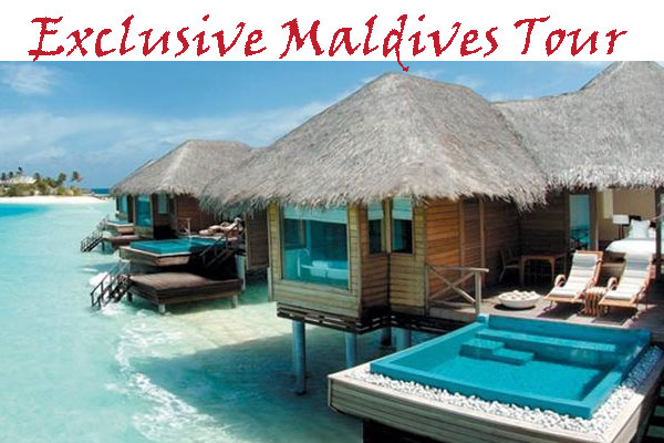 Exclusive Maldives tour