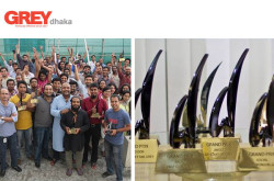 Grey Dhaka Advertising Agency - Team Members and Awards