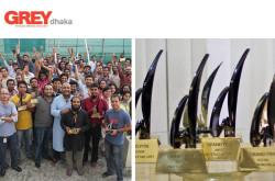 Grey Dhaka Advertising Agency - Team Members and Awards