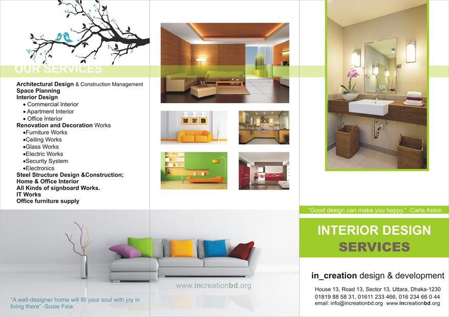 Interior Design Services Increation Design Development