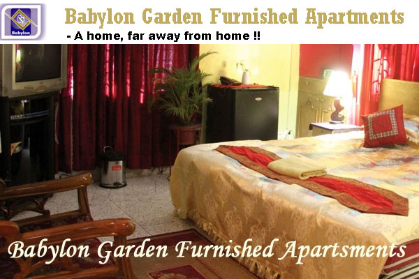 Babylon Garden Furnished Apartments - Baridhara DOHS, Dhaka.
