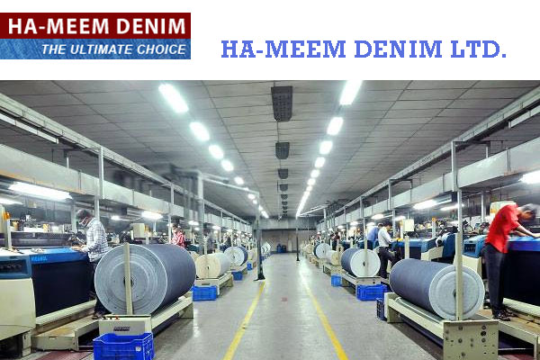 Ha-Meem Denim Mills Ltd - a reputed denim jeans company in