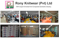 Rony Knitwear (PVT) Ltd - Knitting, Dyeing, Garments and Printing.