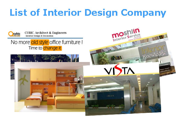 list of interior design firms