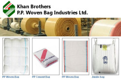Khan Brothers PP Woven Bag Industries Ltd - manufacturers and exporters of woven bags, woven sacks and woven fabric
