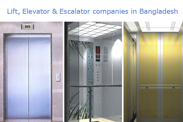 Lift, Elevator & Escalator companies in Bangladesh