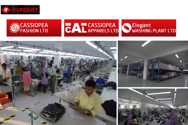 elegant group cassiopea apparels ltd