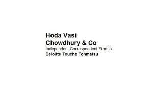 Hoda Vasi Chowdhury & Co