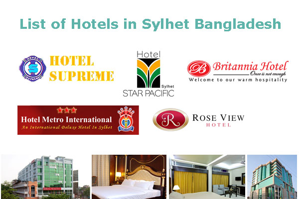 List of Hotels in Sylhet Bangladesh