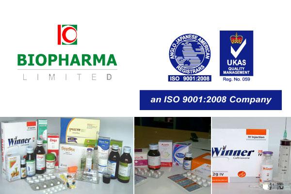 Biopharma Pharmaceuticals Bangladesh - Pharmaceutical Products