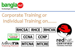 RHCE, RHCVA and CCNA Training in Bangladesh