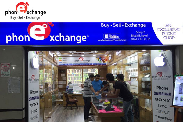 Phone Exchange - Mobile phone shop in Bashundhara City and