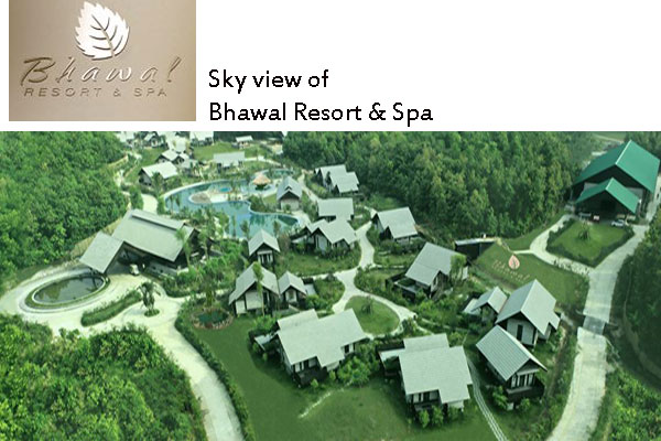 Sky view Bhawal Resort