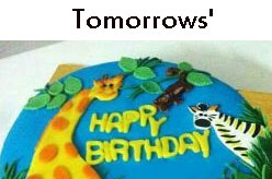 Tomorrows - Customized Cake with Home Delivery