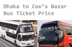 Dhaka Cox's Bazar Bus Ticket Price