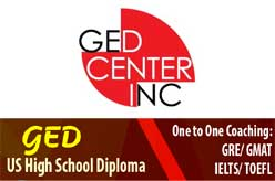 GED Center Inc | GED, TOEFL, GRE, GMAT, SAT Preparation
