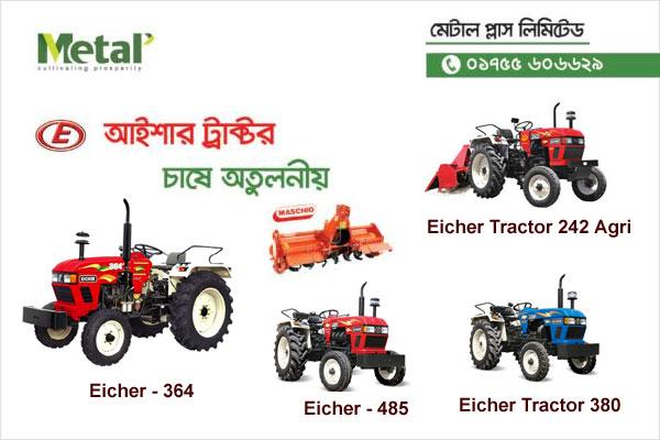eicher tractor information