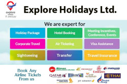 Explore Holidays Ltd - Road 11, Block G, Banani, Dhaka-1213, Bangladesh