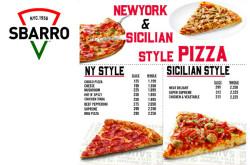 Sbarro New York Style Pizza