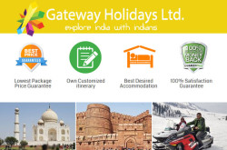 Gateway Holidays Ltd - Travel Agency, Tour To India