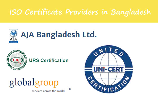 ISO Certificate Provider in Bangladesh