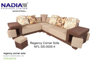 Nadia Furniture regency corner sofa