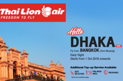 Thai Lion Air - Bangladesh Office, Dhaka to Bangkok Flights, Cheap Air Tickets
